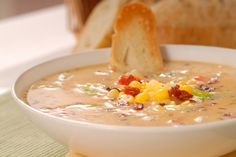 Сливочный суп с кукурузой и беконом ►►► ссылка на рецепт - https://recase.org/slivochnyj-sup-s-kukuruzoj-i-bekonom/