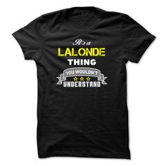 nice Its a LALONDE thing. - Where to buy