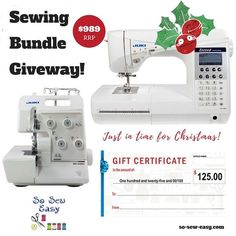 You should really check out this awesome competition on so-sew-easy.com!