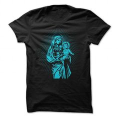 VIRGIN MARY HOLDING JESUS  ICONIC AND AWESOME SHIRT T-SHIRTS, HOODIES, SWEATSHIRT (19$ ==► Shopping Now)