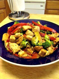 easy chicken stir fry recipe