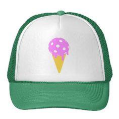 """""""Pickleball Summer"""" Ice Cream Cone Trucker Hat (15% OFF ALL PICKLEBALL APPAREL & ACCESSORIES!)"""