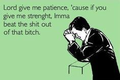 Patience please..