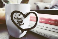 DIY: 30+ Simple Mug Art Tutorials And Ideas | the perfect line