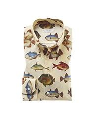 Eton of Sweden / Fish Shirt / Great White Shark Style