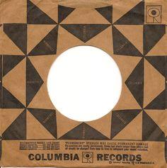Columbia Records 45 sleeve