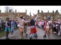 Molly dancing for plough day in Uk In the past, Molly dancers sometimes accompanied the farm labourers to dance and entertain for money. They blackened their faces with soot to disguise themselves so they could not be recognized by their future employers.