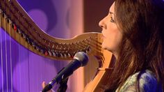 Aisling Jarvis from Dublin, Ireland. 'Thoughts'. with Moya Brennan at Róisín TG4. https://www.pinterest.com/pin/564427765781510337/ ~ Dee L