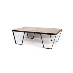 A&A Design - Keller Sohvapöytä. Mangopuu, sekä metallinen runko.  Pituus 120cm. Leveys. 70cm. Korkeus. 38cm.