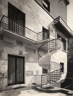 Piero Portaluppi - Casa Wassermann, viale Lombardia, Milano, 1934-36