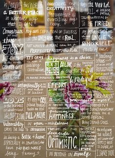 what is your manifesto? - clumsy crafty happy