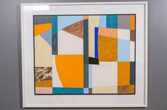 Göran Augustson, 1991, serigrafia, 78x99 cm, edition 67/100 - Huutokauppa Helander 05/2015 Finland, Abstract Art, Frame, Color, Home Decor, Picture Frame, Decoration Home, Room Decor, Colour