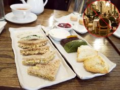 high tea at Bosie Tea Parlor not plaza hotel Bosie Tea Parlor is in NYC's cute West Village York Hotels, Nyc Hotels, Luxury Hotels, New York City Vacation, New York Travel, Vegan Teas, Types Of Sandwiches, Levain Bakery, Nyc Fall