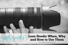 Lens hoods are one of those camera accessories that everyone has seen and are included with most new lenses, but unfortunately are rarely used by photographers. In this tutorial I will explain what lens hoods are, why you should use one, as well as when (and how) you should a lens hood to achieve a better image!