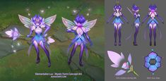 ArtStation - Elementalist Lux - Mystic Form Concept Art, Jean Go Character Sheet, Character Modeling, Character Creation, Character Design, League Of Legends Game, League Of Legends Characters, Star Guardian Skins, Chibi, Everything