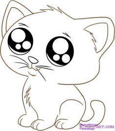 Anime animals, puppy coloring pages, cartoon coloring pages, kitten drawing, cat cart Puppy Coloring Pages, Cat Coloring Page, Cartoon Coloring Pages, Cartoon Drawings Of Animals, Cute Cartoon Animals, Anime Animals, Drawing Animals, Cartoon Ideas, Baby Animals