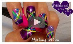 Monochrome Geometric Nail Art | Mix 'n' Match Nails #nailart #geometricnails #mydesigns4you #monochromenails #blackandwhitenails #mixnmatchnails #blackandpinknails #abstractnailart