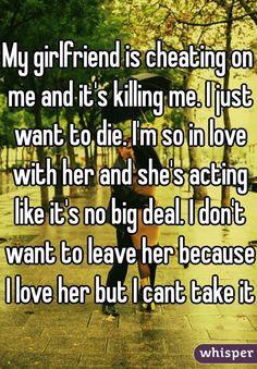Cheating Girlfriend.                                                                                                                                                     More