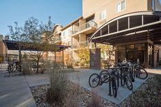 Go green! We have plenty of bike racks to store your bike after riding to and from campus. Student Apartment, Good Student, Fort Collins, Go Green, Apartments, Floor Plans, Tours, Bike, Bicycle
