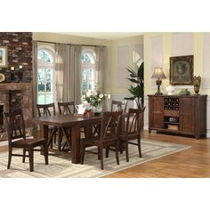 1000 Images About Dining Room On Pinterest Dining Rooms Dining Sets And 7 Piece Dining Set