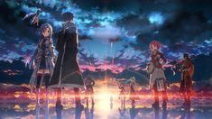 Anime Sword Art Online Pina Kazuto Liz Sun Horizon Sword Asuna Yuuki Yui Kirito Lisbeth Silica Leafa Klein Agil Wallpaper