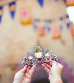 Princess Rapunzel's Crown from Tangled by kateandlouise on Etsy
