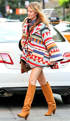 blake lively rocking some amazing bump style! i'll take this even as a non-pregnant woman!