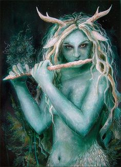 A little known Goddess - Elen of The Ways She peeps out between the trees in forests and woods. As a British Venus, Goddess of Gardens, she is the Flower Bride: at her Holy wells, mainly to be found in the North of the country, she is guardian of the underground streams that carry the sacred waters. These underground streams have themselves become a metaphor for the secret continuation of sacred wisdom.