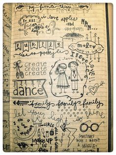 doodle journaling ~ now that is PERFECT! Wish I'd encountered this idea years ago!!