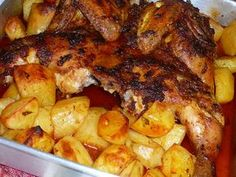 This Portuguese roasted chicken with chouriço recipe doesn't take much time to prepare and makes a delicious meal. Oven Roasted Chicken, Baked Chicken, Stuffed Chicken, Creamy Chicken, Gourmet Recipes, Cooking Recipes, Healthy Recipes, Gourmet Desserts, Game Recipes