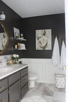 bathrooms usually need the most work but simple sounding changes can quickly tally into a 4 figure bill