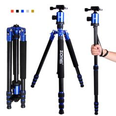 >> Click to Buy << Zomei Z888 Portable Profeesional Dsrl Camera Travel Tripod With Quick Release Plate Light Stand With Bag Free DHL or EMS #Affiliate