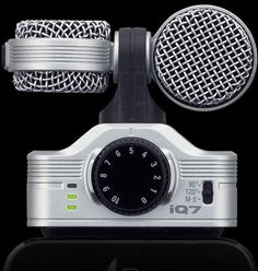 Zoom iQ7 iPhone Microphone for iOS