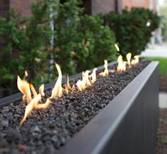 long rectangular fireplace - Google Search