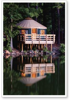 Starting to make plans now.. 30' Pacific Yurt in 2015.
