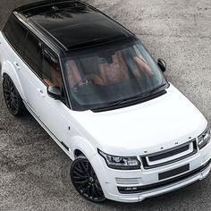 Range Rover Project Kahn RS600 Performance Pack: Copper orange 3d modular design interior, wide arch carbon pack