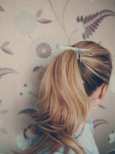 adorable ponytail ↣✿