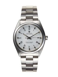 Rolex Stainless-Steel Oyster Perpetual Chronometre (c. 1979) by Vintage Watches on Park & Bond
