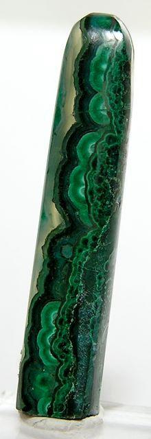 Gem Silica Chrysocolla Malachite Cabochon Ray by FenderMinerals,