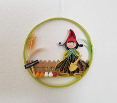 Quilling Gartenzwerge Preis 12 € Durchmesser 10,7 cm Quilling, Enamel, Accessories, Random Stuff, Garden Gnomes, Bedspreads, Vitreous Enamel, Enamels, Quilting