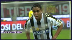 Goal Muriel - Milan 1-1 Udinese - 22-01-2014 Highlights   BeinGoal.Com