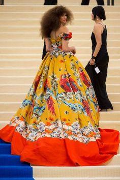 Met Gala 2017, Zendaya in Dolce & Gabbana.