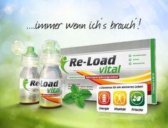 ReLoad Vital - 360 Marketing-Kommunikation für das Nahrungsergänzungsmittel und Apothekenprodukt Re-Load vital....