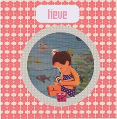 Vintage birthcard by Riestyle