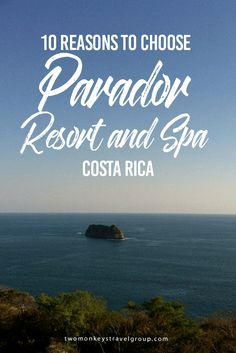 10 Reasons to choose Parador Resort and Spa, Costa Rica Parador Resort and Spa, Costa Rica is a level of luxury you simply won't want to leave. Having spent four nights in a tent on the floor while covering Envision Festival and our days walking around half naked covered in blue mud, working in a Hare Krishna kitchen for free meals and dancing to electronic music, we were in need of some serious recuperation!