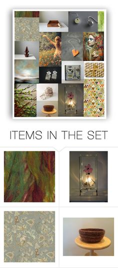 """""""Etsy Finds, Etsy Friends"""" by crystalglowdesign ❤ liked on Polyvore featuring art, rustic and vintage"""