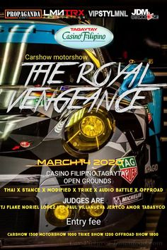 Car show alert! Show Must Go On, Tagaytay, Car Show, Jdm, Philippines, Japanese Domestic Market