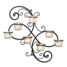 Nuevo stonebriar portacandelitas de lámpara de pared Portavelas Envío Gratis in Casa y jardín, Decoración para el hogar, Candeleros y accesorios | eBay