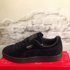 Puma Suede Classic+ All Black sneakers
