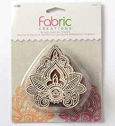 Fabric+Creations™+Block+Printing+Stamps+-+Medium+-+Indian+Leaf